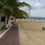 beach/activity area