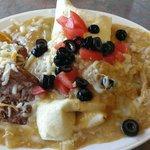 Little breakfast at Boulder Mesa - WOW!