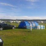 tent area.