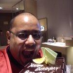 celebrating birthday @ holiday inn