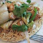 Crispy noodle deliciousness :)