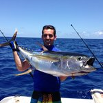 80 lb yellow fin tuna....