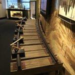 Lots of exhibits including a railroad history exhibit