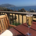 Prosecco with a view to die for!