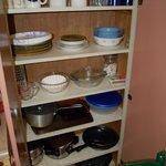 Kitchen items supplied