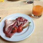 Café da manhã delicioso!