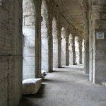 Arcade of the Arles Roman Amphitheater