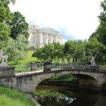 вид на Павловский дворец
