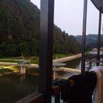 River view, balcony