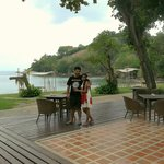 with my husband at Thavorne