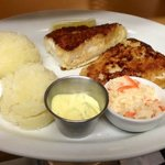 Pan Fried Fish with Mashed