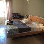 Camera tripla con unico letto