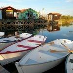 Le Port des Salines, à Petit Village (à 500m de la résidence)