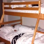 boys knocked out in bunk beds