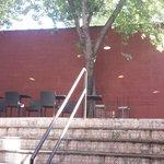 Outdoor back patio