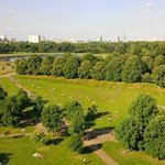 The Royal Garden Hotel overlooks beautiful Hyde Park