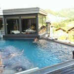 piscine chauffée extérieure