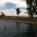 Big person diving board is fun!