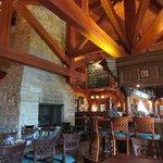 Inside is beautiful - 100 year old fallen timber