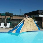 Water slides inside and outside!
