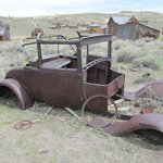 Driving to Bodie