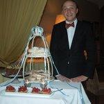 Our fabulous waiter Marcin