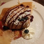 Delicious Fruit Crepes!