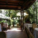 Ristorante San Giovanni, la veranda