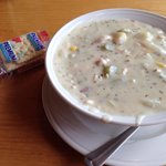 Chowder - not a lot of whitefish, just okay flavor