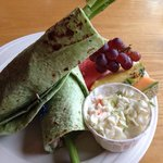 Whitefish wrap... Good, but not worth a special trip (which I did)