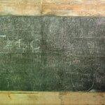 chualk board