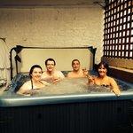 Hot tub fun;)