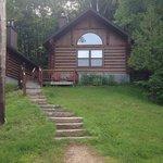 Hummingbird cabin, right across from the beach