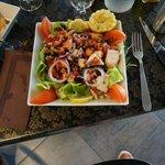 La salade de poulpe