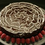 Chocolate Cake Tart
