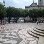 Igreja e largo de São Sebastião.
