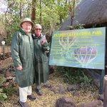 John and Jane at Victoria Falls