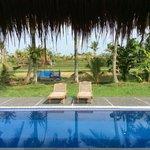 Our private villa pool