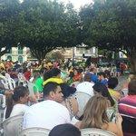 """World Cup time at """"Largo São Sebastião"""" USA x Porrugal"""