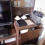Nespresso and other amenities