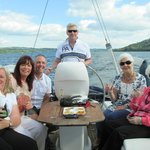 Fun with friends on Lake Windermere
