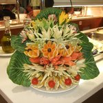 beautiful creations in restaurant
