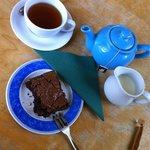 Brownie and Tea