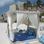 Thai beds on the beach for USD50 per day