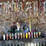Candles and Crosses at Chimayo