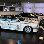 Inside the entrance of the BMW museum
