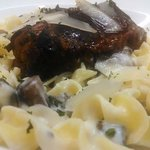 Short Rib Stroganoff with Parmesan Cream Sauce