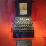 Enigma coding machine from WWII