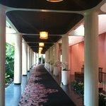 Corridor of Hotel