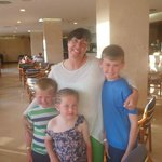 mia with my children